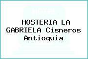 HOSTERIA LA GABRIELA Cisneros Antioquia