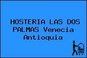 HOSTERIA LAS DOS PALMAS Venecia Antioquia
