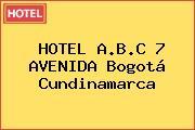 HOTEL A.B.C 7 AVENIDA Bogotá Cundinamarca