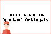HOTEL ACADETUR Apartadó Antioquia