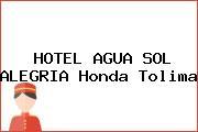HOTEL AGUA SOL ALEGRIA Honda Tolima