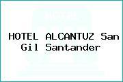 HOTEL ALCANTUZ San Gil Santander