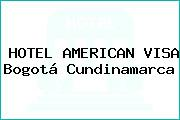 HOTEL AMERICAN VISA Bogotá Cundinamarca