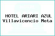 HOTEL ARIARI AZUL Villavicencio Meta