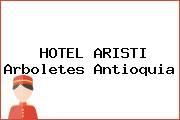 HOTEL ARISTI Arboletes Antioquia