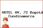 HOTEL AV. 72 Bogotá Cundinamarca