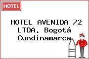 HOTEL AVENIDA 72 LTDA. Bogotá Cundinamarca