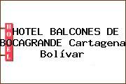 HOTEL BALCONES DE BOCAGRANDE Cartagena Bolívar