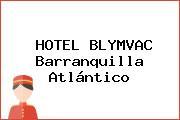 HOTEL BLYMVAC Barranquilla Atlántico