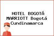HOTEL BOGOTÁ MARRIOTT Bogotá Cundinamarca