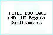 HOTEL BOUTIQUE ANDALUZ Bogotá Cundinamarca