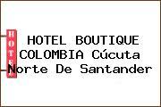 HOTEL BOUTIQUE COLOMBIA Cúcuta Norte De Santander