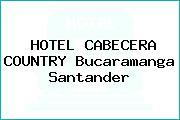 HOTEL CABECERA COUNTRY Bucaramanga Santander