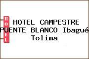 HOTEL CAMPESTRE PUENTE BLANCO Ibagué Tolima