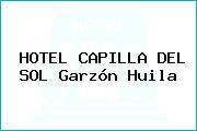 HOTEL CAPILLA DEL SOL Garzón Huila