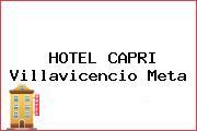 HOTEL CAPRI Villavicencio Meta