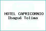 HOTEL CAPRICORNIO Ibagué Tolima