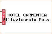 HOTEL CARMENTEA Villavicencio Meta
