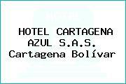 HOTEL CARTAGENA AZUL S.A.S. Cartagena Bolívar