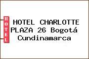 HOTEL CHARLOTTE PLAZA 26 Bogotá Cundinamarca