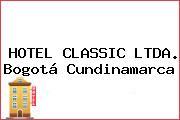 HOTEL CLASSIC LTDA. Bogotá Cundinamarca