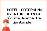 HOTEL COCOPALMA AVENIDA QUINTA Cúcuta Norte De Santander