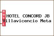 HOTEL CONCORD JB Villavicencio Meta