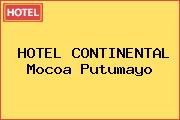 HOTEL CONTINENTAL Mocoa Putumayo
