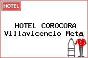 HOTEL COROCORA Villavicencio Meta