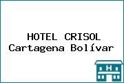 HOTEL CRISOL Cartagena Bolívar