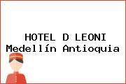 HOTEL D LEONI Medellín Antioquia