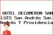 HOTEL DECAMERON SAN LUIS San Andrés San Andrés Y Providencia