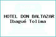 HOTEL DON BALTAZAR Ibagué Tolima