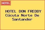HOTEL DON FREDDY Cúcuta Norte De Santander