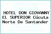 HOTEL DON GIOVANNY EL SUPERIOR Cúcuta Norte De Santander