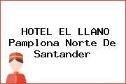 HOTEL EL LLANO Pamplona Norte De Santander