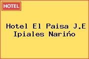 Hotel El Paisa J.E Ipiales Nariño