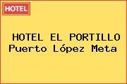 HOTEL EL PORTILLO Puerto López Meta