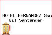 HOTEL FERNANDEZ San Gil Santander