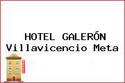 HOTEL GALERÓN Villavicencio Meta