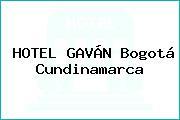 HOTEL GAVÁN Bogotá Cundinamarca