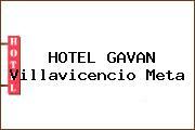 HOTEL GAVAN Villavicencio Meta