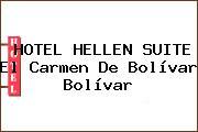 HOTEL HELLEN SUITE El Carmen De Bolívar Bolívar