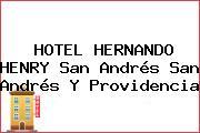 HOTEL HERNANDO HENRY San Andrés San Andrés Y Providencia