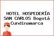 HOTEL HOSPEDERÍA SAN CARLOS Bogotá Cundinamarca