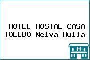 HOTEL HOSTAL CASA TOLEDO Neiva Huila