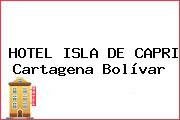 HOTEL ISLA DE CAPRI Cartagena Bolívar