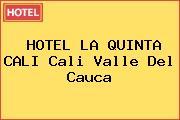 HOTEL LA QUINTA CALI Cali Valle Del Cauca