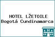 HOTEL L®ETOILE Bogotá Cundinamarca