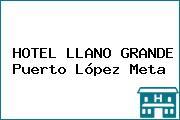 HOTEL LLANO GRANDE Puerto López Meta